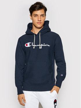Champion Champion Džemperis Script Logo 215159 Tamsiai mėlyna Custom Fit