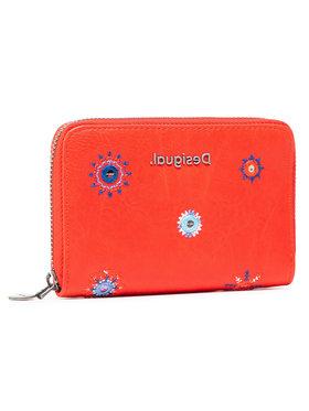 Desigual Desigual Portefeuille femme grand format 21SAYP56 Rouge