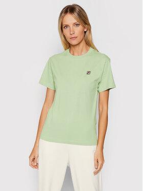 Fila Fila T-shirt Nova 689132 Verde Regular Fit