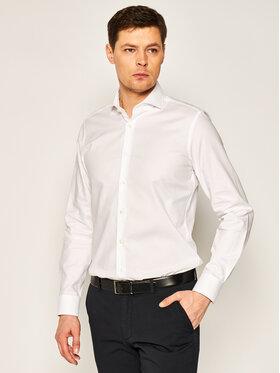 Joop! Joop! Marškiniai 17 JSH-04Panko 30019735 Balta Slim Fit