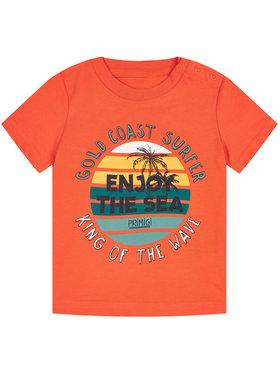 Primigi Primigi T-Shirt Surfing King 45221009 Pomarańczowy Regular Fit