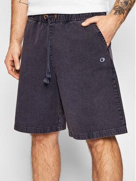 Champion Champion Pantalon scurți din material 216207 Bleumarin Regular Fit