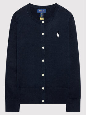 Polo Ralph Lauren Polo Ralph Lauren Ζακέτα Cardi 313851090002 Σκούρο μπλε Regular Fit