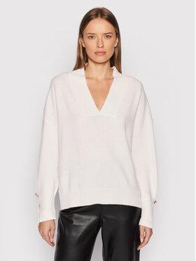 Liu Jo Liu Jo Sweater WF1323 MA72L Fehér Regular Fit