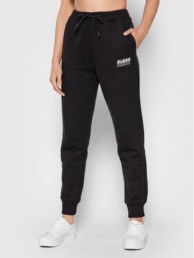 Guess Guess Teplákové nohavice O1BA01 K9V31 Čierna Regular Fit