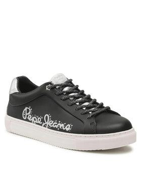 Pepe Jeans Pepe Jeans Sneakersy Adams Pam PLS31200 Černá