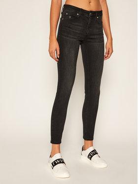 Calvin Klein Jeans Calvin Klein Jeans Blugi Skinny Fit Mid Rise J20J214099 Negru Skinny Fit