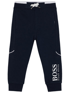 Boss Boss Παντελόνι φόρμας J04J63 D Σκούρο μπλε Regular Fit