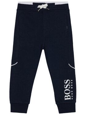 Boss Boss Spodnie dresowe J04J63 D Granatowy Regular Fit