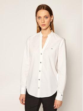 Calvin Klein Calvin Klein Košile Open Shirt K20K202234 Bílá Regular Fit