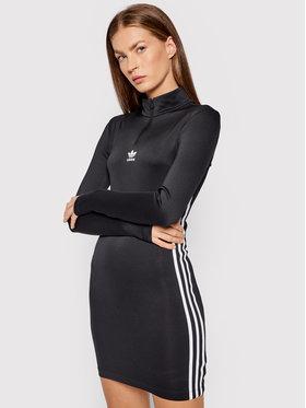 adidas adidas Sukienka codzienna adicolor Classics H35616 Czarny Tight Fit