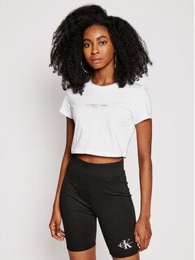 Calvin Klein Jeans Calvin Klein Jeans Tričko Pride J20J217203 Biela Slim Fit