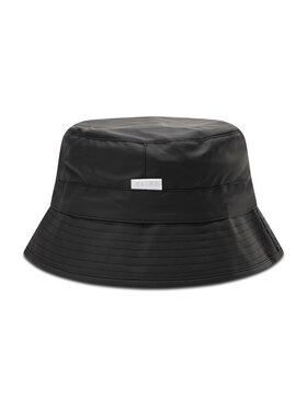 Rains Rains Текстилна шапка Bucket Hat 2001 Черен