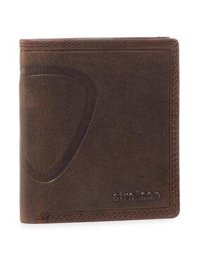 Strellson Strellson Malá pánska peňaženka Billfold Q7 4010000047 Hnedá
