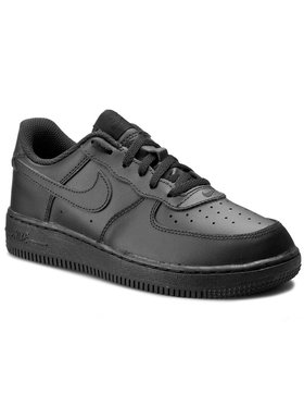 Nike Nike Παπούτσια Force 1 (PS) 314193 009 Μαύρο
