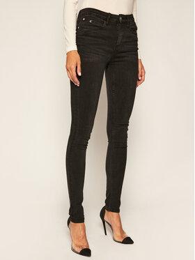 Calvin Klein Jeans Calvin Klein Jeans Jeansy Chalk IG0IG00553 Černá Skinny Fit