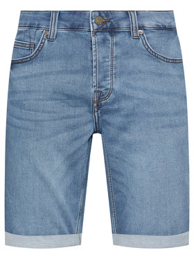 Only & Sons Only & Sons Jeansshorts Ply 22018584 Dunkelblau Regular Fit
