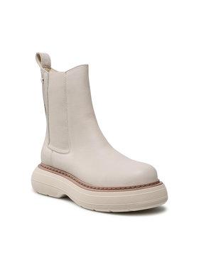 Carinii Carinii Členková obuv s elastickým prvkom B7281 Béžová
