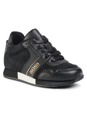 Boss Boss Sneakersy J29225 S Černá