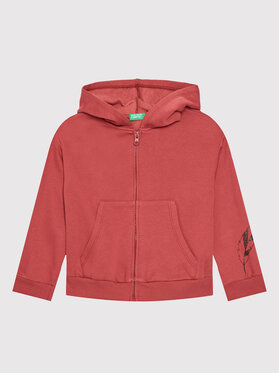 United Colors Of Benetton United Colors Of Benetton Sweatshirt 3J73C5005 Rot Regular Fit