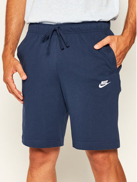 Nike Nike Pantaloncini sportivi Sportswear Club Fleece BV2772 Blu scuro Standard Fit