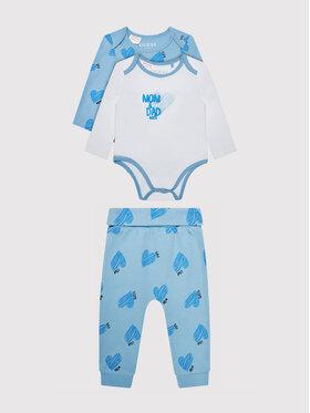 Guess Guess Set 2 perechi body și pantaloni H1YW08 J1311 Albastru Regular Fit