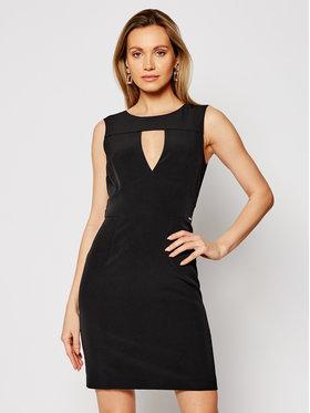 Guess Guess Коктейлна рокля W1GK0S WB4H2 Черен Slim Fit