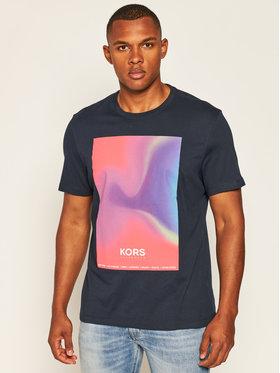 MICHAEL Michael Kors MICHAEL Michael Kors T-Shirt Gradient Logo CU05JJXFV4 Granatowy Regular Fit