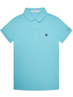 Calvin Klein Jeans Calvin Klein Jeans Pólóing Monogram Chest IB0IB00733 Kék Regular Fit