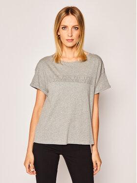 Napapijri Napapijri Marškinėliai Siccari NP0A4E3W1 Pilka Regular Fit