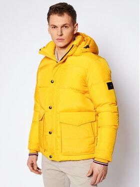 Tommy Hilfiger Tommy Hilfiger Zimní bunda Tommy Down MW0MW14888 Žlutá Regular Fit