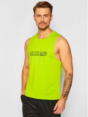 Calvin Klein Performance Calvin Klein Performance Tank top 00GMF0K176 Πράσινο Regular Fit