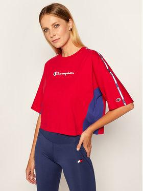Champion Champion T-Shirt Logo 113345 Červená Oversize