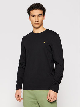 Lyle & Scott Lyle & Scott Halat Crew Neck TS512V Negru Regular Fit