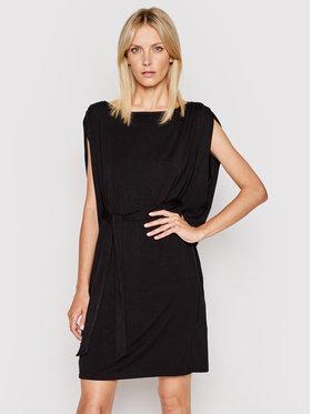 DKNY DKNY Každodenní šaty DD1CL714 Černá Regular Fit