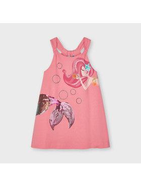 Mayoral Mayoral Φόρεμα καθημερινό 3955 Ροζ Regular Fit