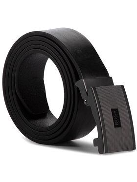 Boss Boss Pánský pásek Jecil 50419381 Černá