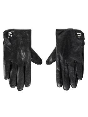 KARL LAGERFELD KARL LAGERFELD Dámske rukavice 206W3608 Čierna