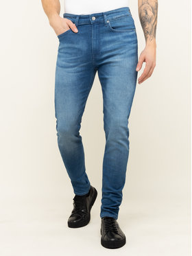 Calvin Klein Jeans Calvin Klein Jeans Jeansy J30J314340 Granatowy Skinny Fit