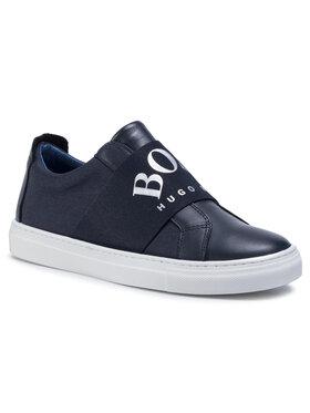 Boss Boss Sneakersy J29227 D Tmavomodrá