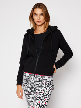 MOSCHINO Underwear & Swim MOSCHINO Underwear & Swim Bluză ZUA1702 9006 Negru Regular Fit