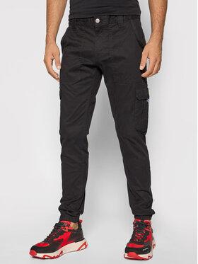 Tommy Jeans Tommy Jeans Spodnie materiałowe Scanton DM0DM09660 Czarny Slim Fit