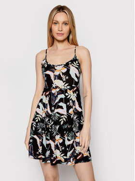 Roxy Roxy Лятна рокля Sand Dune ERJX603233 Цветен Regular Fit
