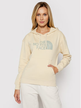 The North Face The North Face Felpa W Light Drew Peak Hoodie NF0A3RZ4RB61 Beige Regular Fit