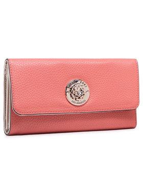 Guess Guess Veľká dámska peňaženka Belle Isle (VG) SLG SWVG77 44650 Ružová