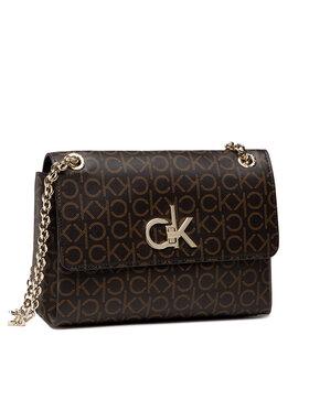 Calvin Klein Calvin Klein Дамска чанта K60K608318 Кафяв
