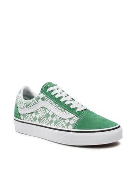 Vans Vans Гуменки Old Skool VN0A3WKT4QC1 Зелен