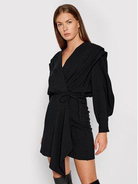 IRO IRO Sukienka codzienna Rixton AP137 Czarny Regular Fit