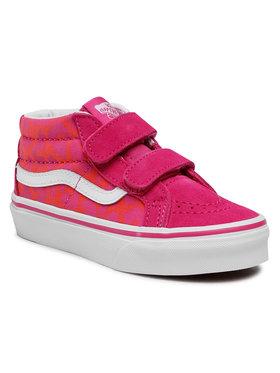 Vans Vans Sneakersy Sk8-Mid Reissue V VN0A346Y34L1 Różowy