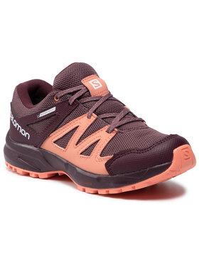 Salomon Salomon Chaussures de trekking Huapi Cswp J 412321 10 M0 Violet